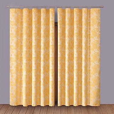 Комплект штор №1110074, желтый