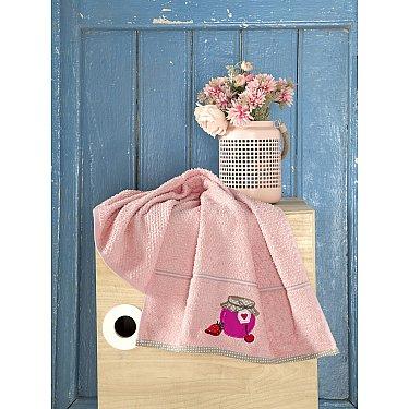 """Полотенце кухонное махровое """"KARNA BREAKFAST"""", абрикосовый, 45*70 см"""
