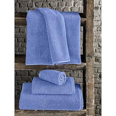 """Полотенце махровое """"KARNA EFOR"""", голубой, 90*150 см"""