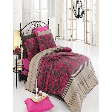 КПБ Cotton Life Elegance (70*70/2 шт), фуксия ( 1.5 спальный)
