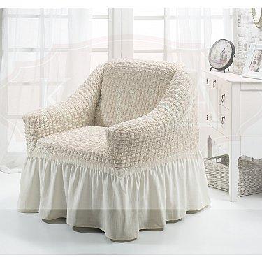 """Чехол для кресла """"BULSAN"""", кремовый"""