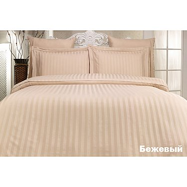 Комплект постельного белья KARNA PERLA Бамбук (2 спальный), бежевый