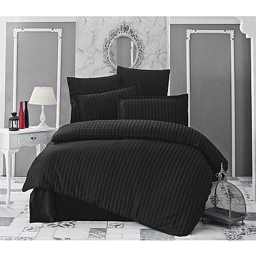 Комплект постельного белья KARNA PERLA Бамбук (Евро), черный