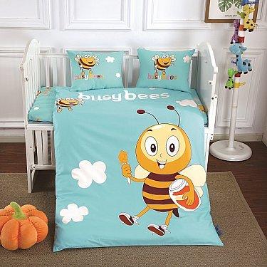 КПБ сатин DO&CO BUSY BEE (Новорожденный)