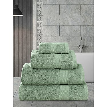 """Полотенца махровое """"KARNA AREL"""", зеленый"""