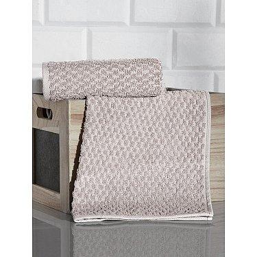 """Полотенце кухонное махровое с жаккардом """"KARNA DAMA"""", бежевый, 40*60 см"""