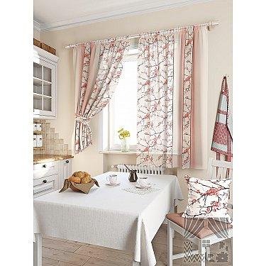"""Фотошторы """"Ориен"""", розовый, 180 см-A"""
