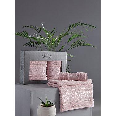 "Комплект из 2-х полотенец бамбук ""KARNA ARMOND"" (50*90; 70*140), светло-лаванда"