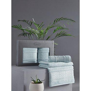 "Комплект из 2-х полотенец бамбук ""KARNA ARMOND"" (50*90; 70*140), ментол"