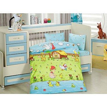 Комплект постельного белья Altinbasak DREAM GARDEN (Новорожденный)