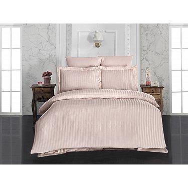 Комплект постельного белья KARNA PERLA Бамбук (Евро), абрикосовый