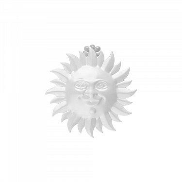 """Держатель-клипса для штор """"Улыбка солнца"""", дизайн 115.101, белый"""