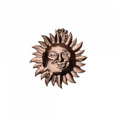 """Держатель-клипса для штор """"Улыбка солнца"""", дизайн 115.688, коньяк"""