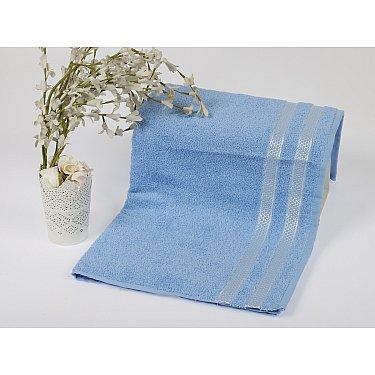 """Полотенце махровое """"KARNA PETEK"""", голубой, 70*140 см"""