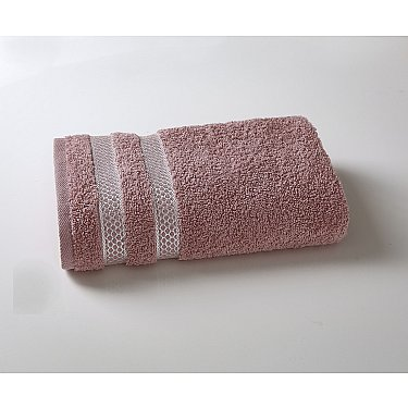 "Полотенце махровое ""KARNA PETEK"", грязно-розовый"