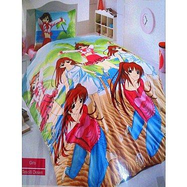КПБ Бязь Cotton Life Girls детский (1.5 спальный)