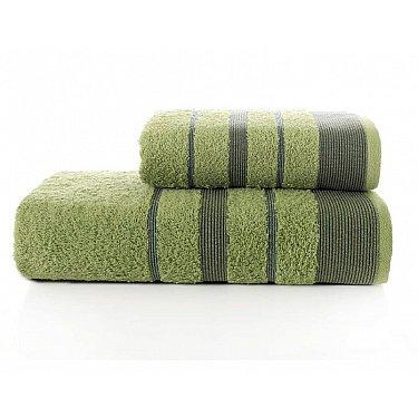"""Комплект махровых полотенец """"KARNA REGAL SET"""" (50*90; 70*140 см), зеленый"""