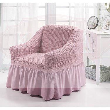 """Чехол для кресла """"BULSAN"""", светло-розовый"""