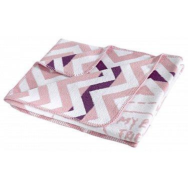 "Плед хлопок ""KARNA FRINENDY"", грязно-розовый, 90*120 см"