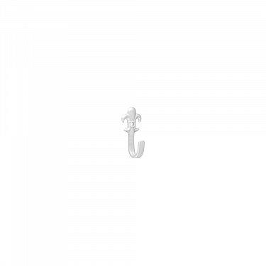 """Комплект крючков для штор """"Пика"""", дизайн 104.101, белый"""