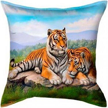 "Наволочка ""Тигры"", оранжевый"