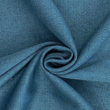 Шторы блэкаут твид RR JTH-93-20, синий, 200*270 см