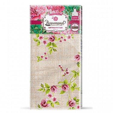 Полотенце вафельное 50*70 'Романтика' Английский сад