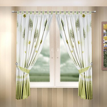 Комплект штор №333322