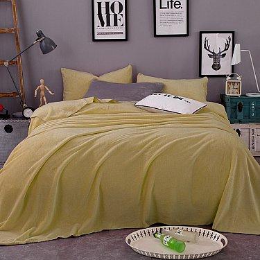 Плед фланелевый Tango Arcobaleno однотонный дизайн 16, 150*200 см
