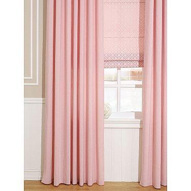 """Комплект штор """"Рамбус (розовый)"""""""