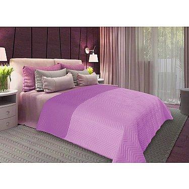 Покрывало флок Amore Mio Soft, фиолетовый, 200*220 см