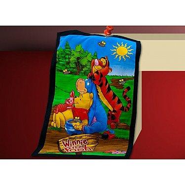 Пляжное полотенце Winnie the Pooh, 75*150 см, мультиколор