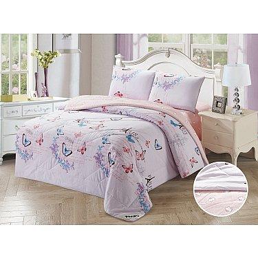 КПБ Сатин Tango Primavera с одеялом дизайн 09 (Евро)