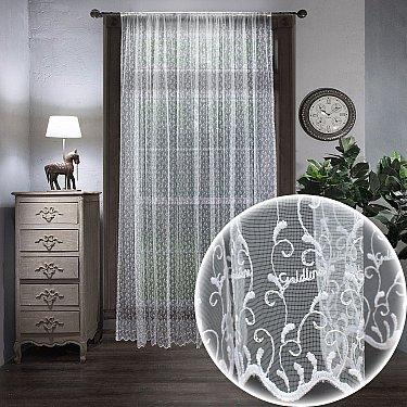 Тюль вышивка Classic Amore Mio RR 80700-w, белый, 300*270 см