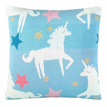 Наволочка декоративная детская Arya Unicorn, 35*35 см
