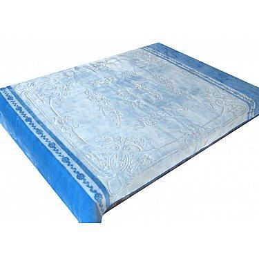 Плед TexRepublic Tomilon Annulet, голубой, 200*240 см