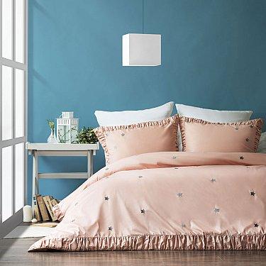 """КПБ """"Мира"""" (1.5 спальный), розовый"""