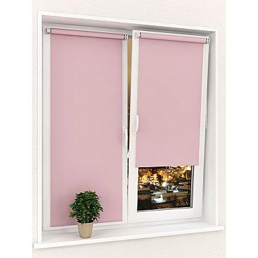 Рулонная штора ролло однотонная Sola J-6, розовый