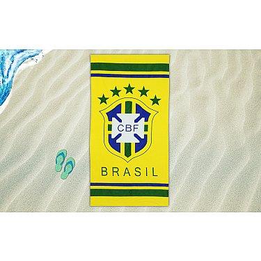 Пляжное велюровое полотенце дизайн 107, 70*150 см