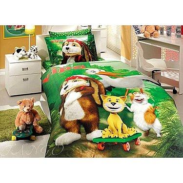 КПБ Детский Ранфорс Hobby дизайн 07 (1.5 спальный)
