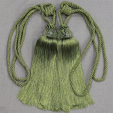 Кисти Ajur QX 2618-6, зеленый, 50 см