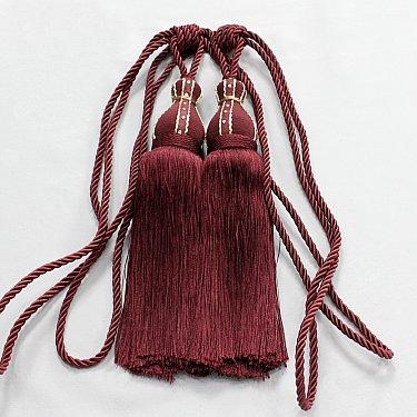 Кисти Ajur HK K2-81, бордовый, 50 см