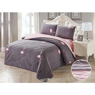 КПБ Сатин Tango Primavera с одеялом дизайн 08 (Евро)