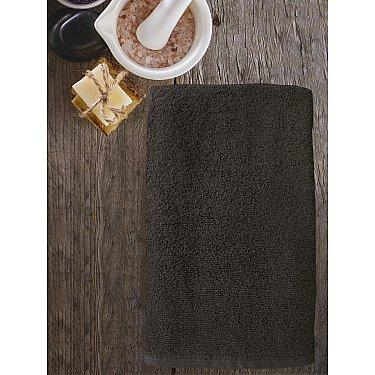 Полотенце махровое Amore Mio AST Cotton, коричневый
