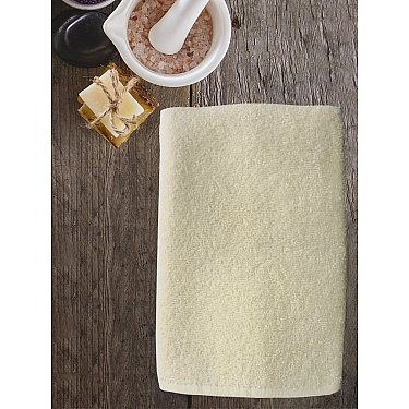 Полотенце махровое Amore Mio AST Cotton, молочный