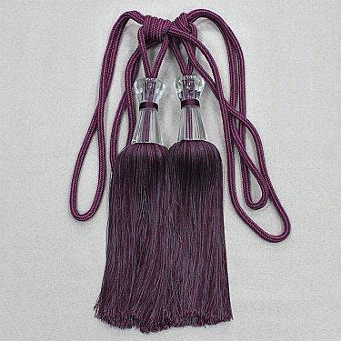 Кисти Ajur HK MB917AY-1013, фиолетовый, 60 см