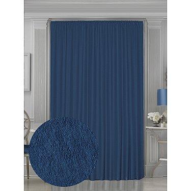 Шторы Amore Mio RR 42002-815, синий, 200*270 см