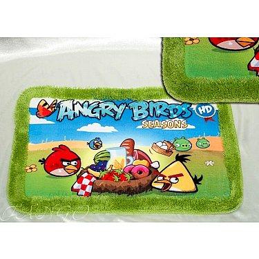 Детский коврик для ванной Angry Birds Seasons, 40*60 см