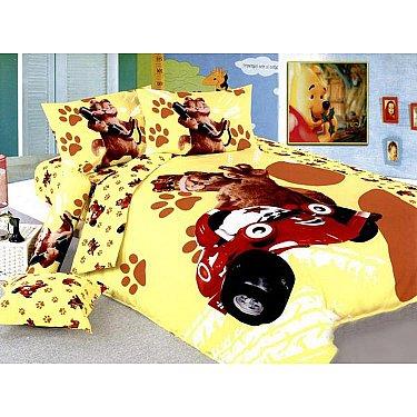 КПБ Детский Сатин дизайн 42 (1.5 спальный)-A
