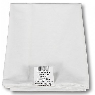 Наволочка Аквастоп, белый, 40*60 см